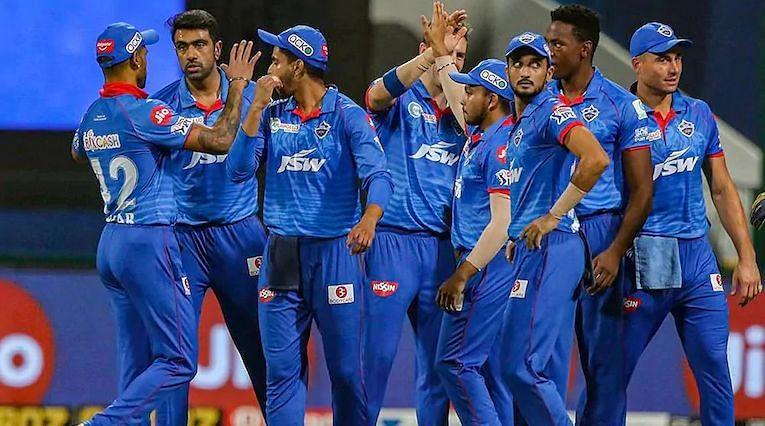दिल्ली कैपिटल्स की टीम पहले चरण के बाद तालिका में नम्बर एक पर है