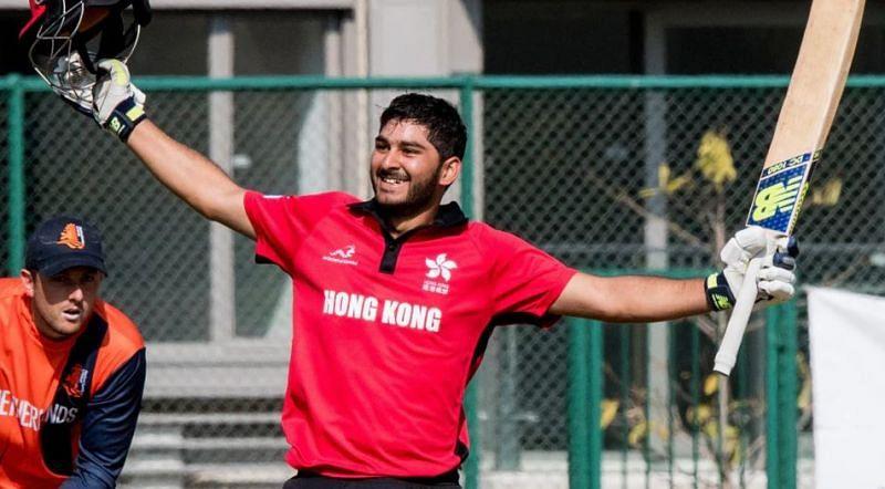 अंशुमान रथ ने हांगकांग के लिए सीमित ओवर क्रिकेट खेला है