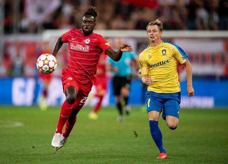 Brondby IF host Red Bull Salzburg in Denmark on Wednesday