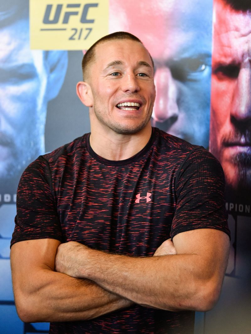 UFC 217: Montreal Media Day with Georges St-Pierre ahead of the show