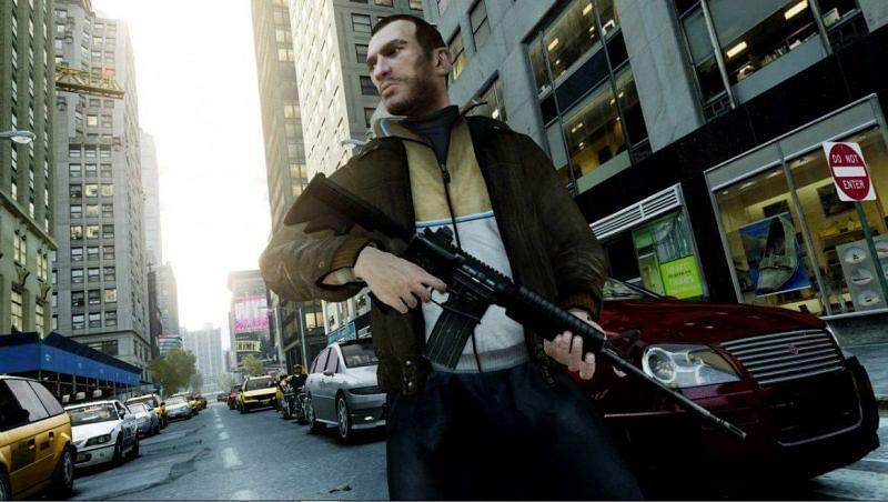 Niko Bellic brings a European touch to GTA protagonists (Image via Rockstar Games)