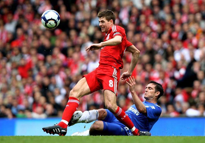 Steven Gerrard scored over 200 goals in his career.