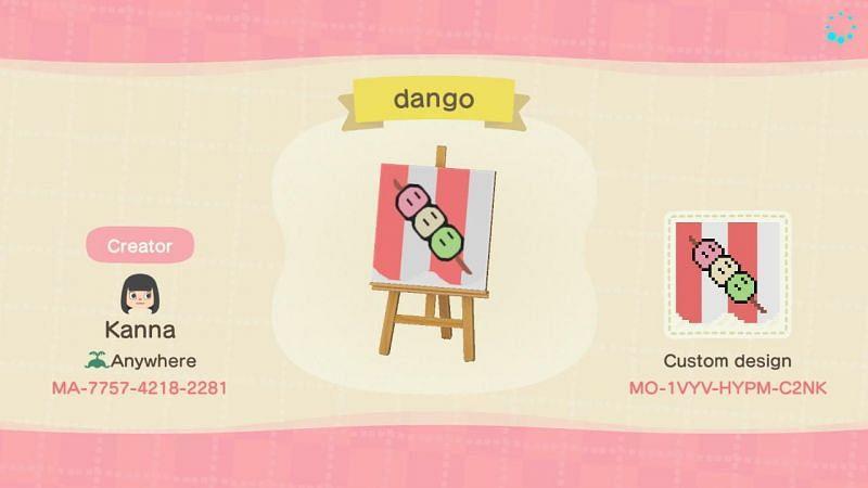 Dango design. Image via Nintendo