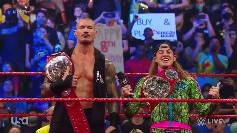 RK-Bro won the RAW Tag Team titles at SummerSlam.
