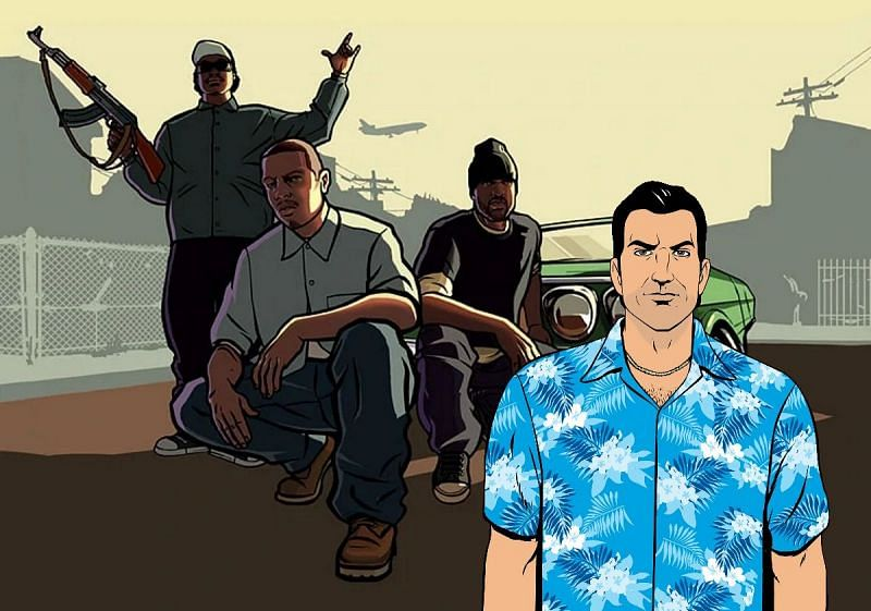 Both Vice City and San Andreas are iconic games within the series (Image via Sportskeeda)