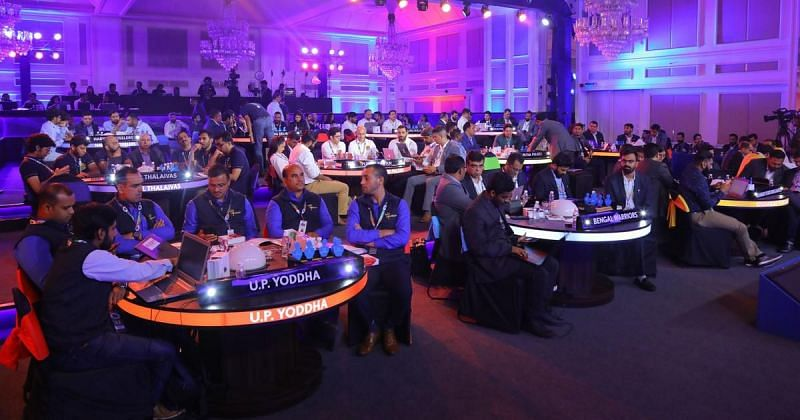 The PKL Auction 2021 will witness over 450 players going under the hammer.