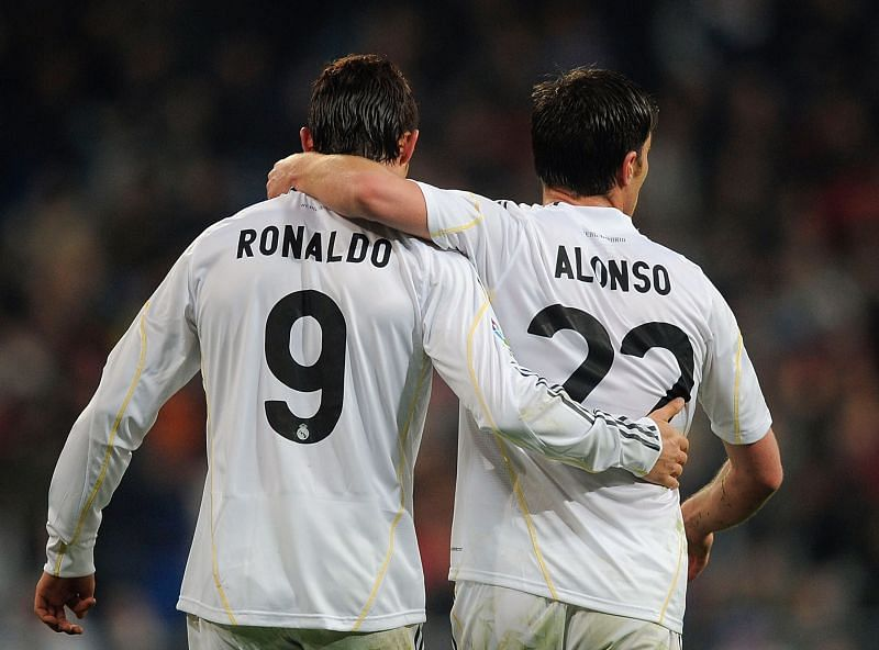 Cristiano Ronaldo wore the number 9 jersey during his first yeat at Real Madrid