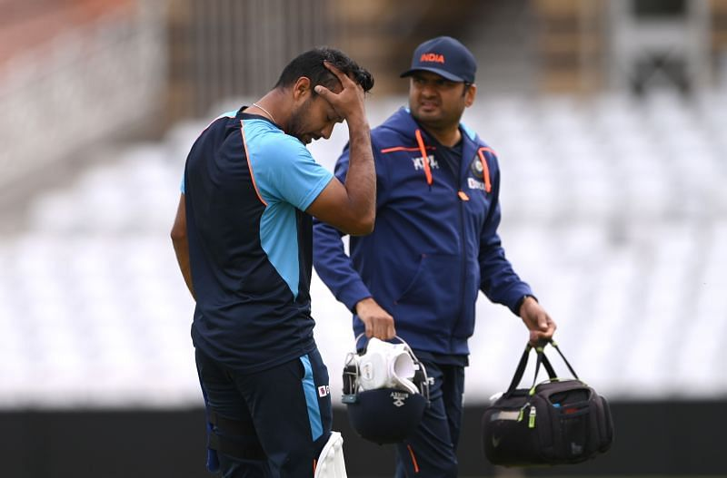 Mayank Agarwal was ruled out of the First Test against England after a concussion.