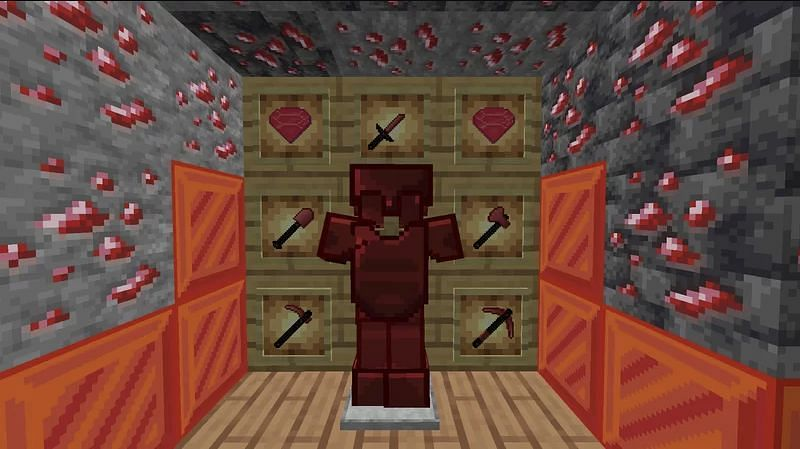 Ichigo is a red-themed Minecraft 1.17 PvP pack