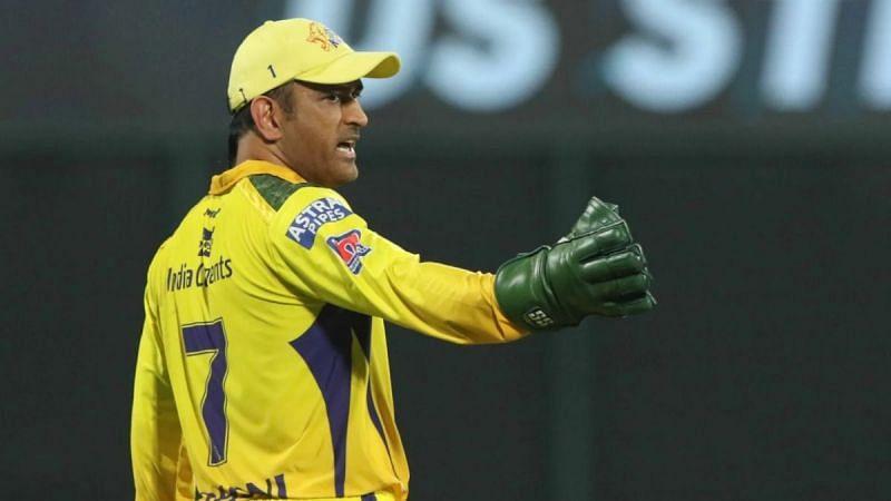 Chennai Super Kings captain MS Dhoni