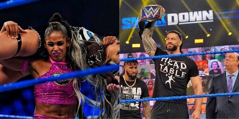 WWE SmackDown में बियांका ब्लेयर और रोमन रेंस ने अपनी-अपनी स्टोरीलाइन को आगे बढ़ाया