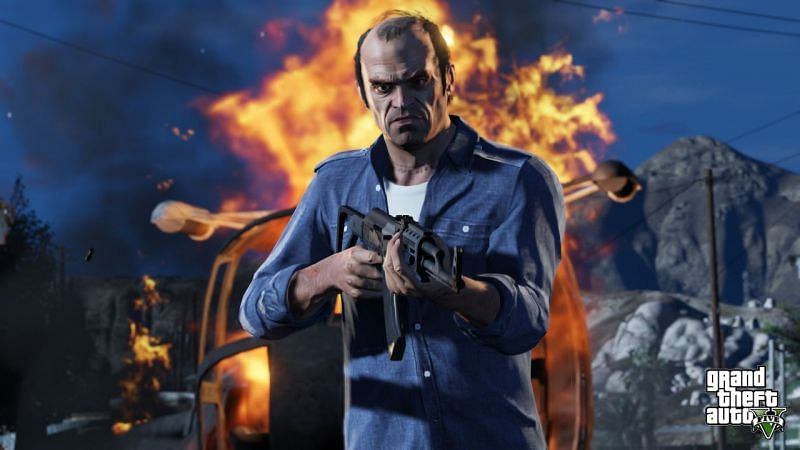 When someone sees Trevor Philips in GTA 5, they should run (Image via Rockstar Games)