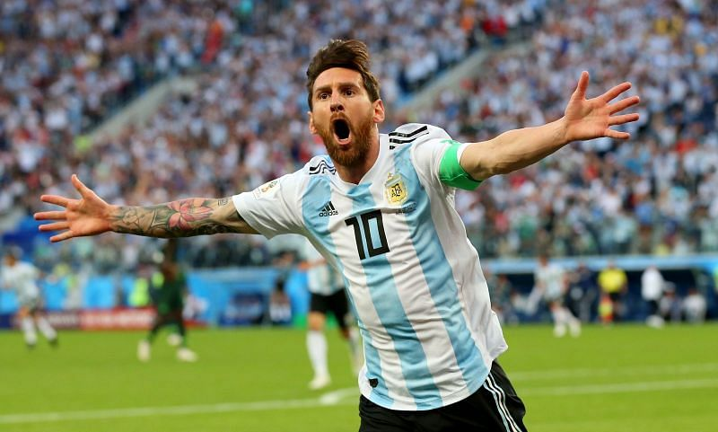 Lionel Messi has come a long way since the red card on his Argentina debut