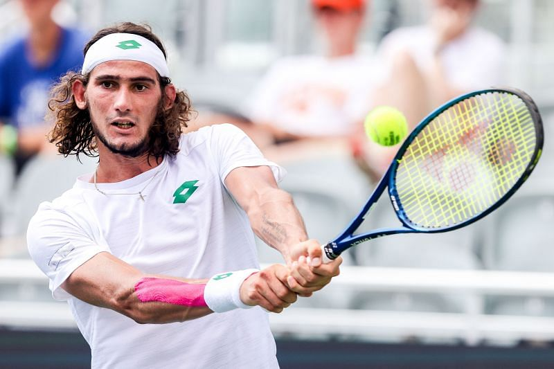 Lloyd Harris will be buoyed by his recent win over Rafael Nadal