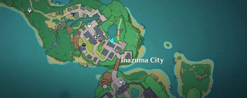 Chouji in Inazuma in Genshin Impact (Image via Genshin Impact)