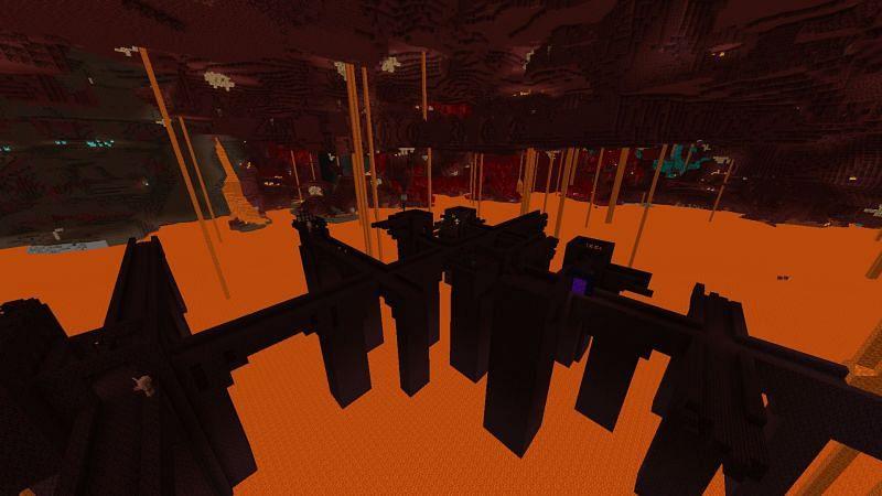 Fortress (Image via Minecraft)