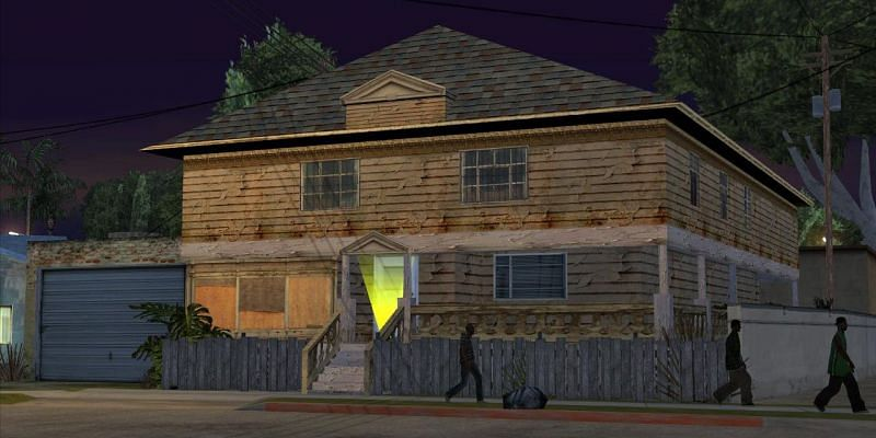 The Johnson House is located here, which is one of the most memorable safehouses in the series (Image via Rockstar Games)