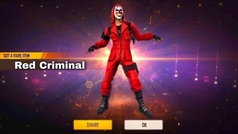 Red Criminal Bundle (Image via KANGRA GAMERS; YouTube)