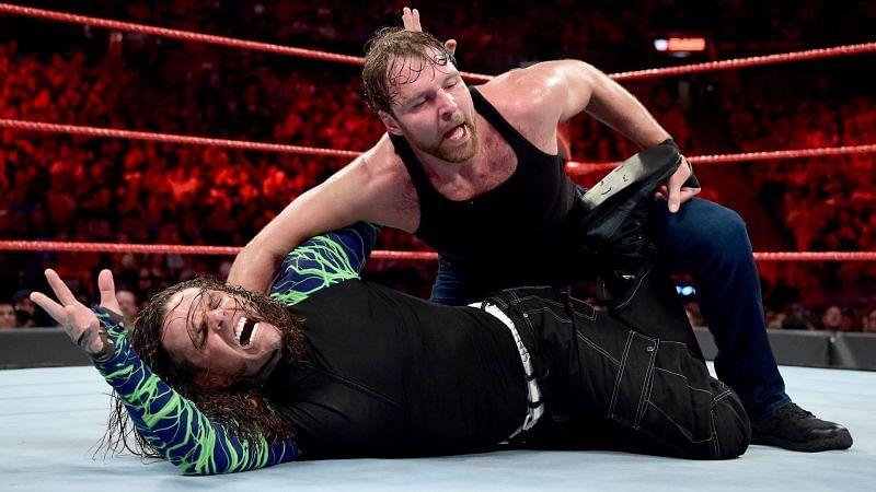 WWE Superstar Jeff Hardy never pinned AEW Star Jon Moxley
