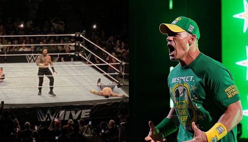 WWE Supershow इवेंट में रोमन रेंस, जॉन सीना, बॉबी लैश्ले, मिस्टीरियो फैमिली एक्शन में नजर आए