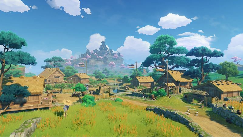 Inazuma region has a lot of secret achievements (image via miHoYo)