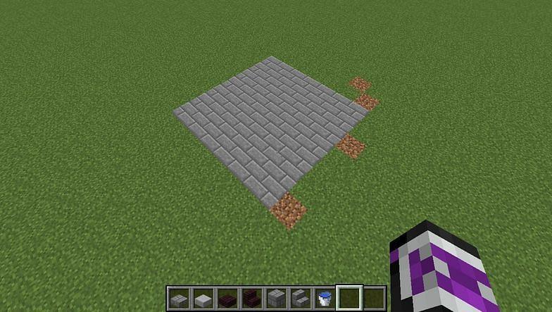Stone bricks (Image via Minecraft, Snapguide Brit + Co