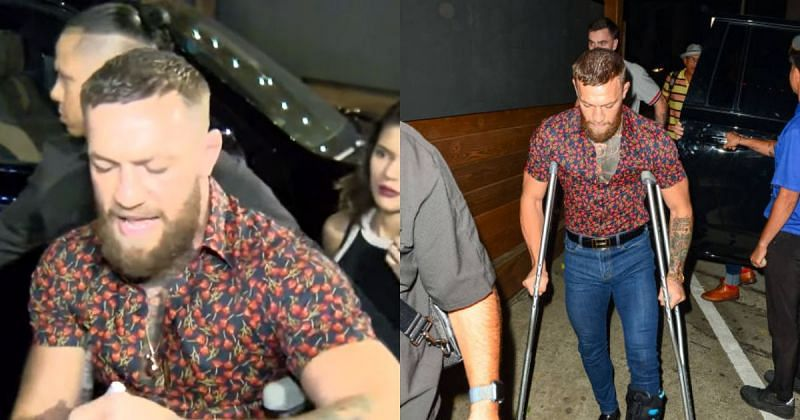 UFC news: Conor McGregor has guaranteed fans that he is healing well from his terrible leg injury