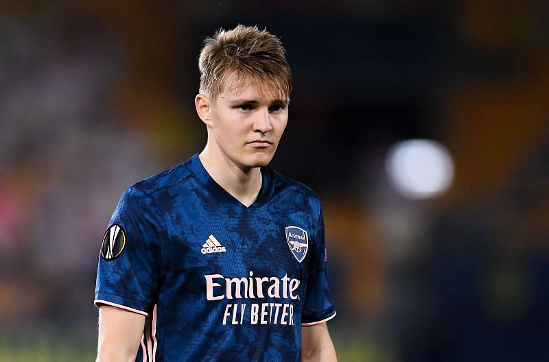Martin Odegaard spent the previous season on loan at Arsenal