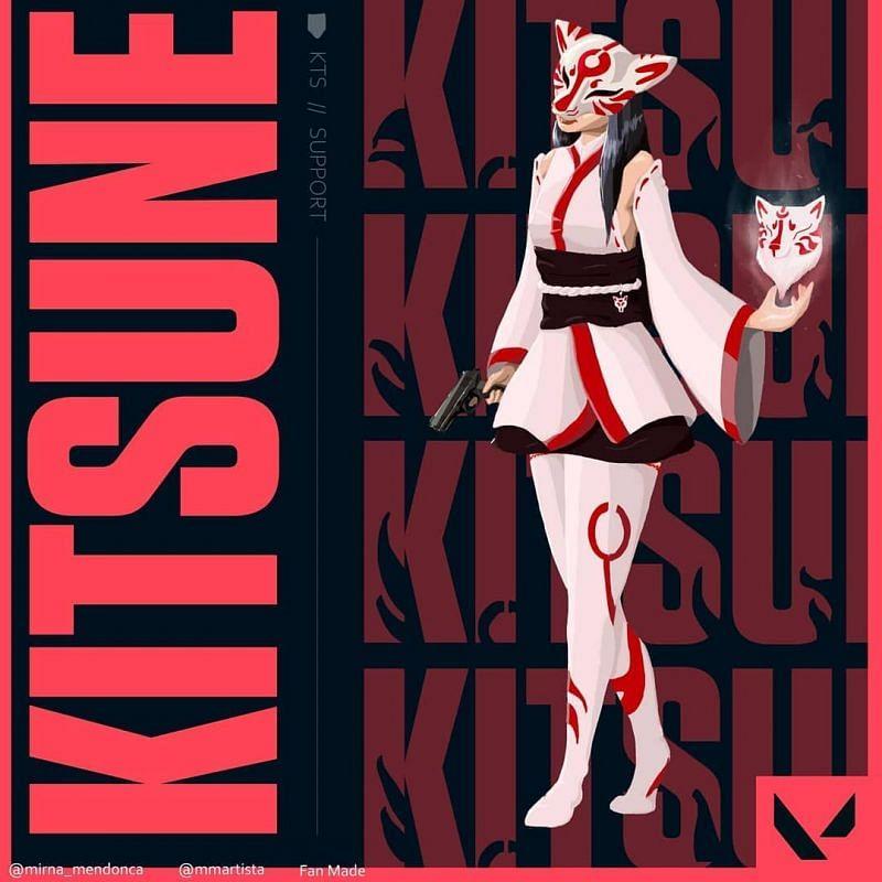 Kitsune, the master of Legendary Japanese foxes. (Image via Felinea)