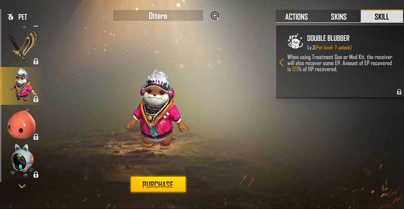Ottero - Double Blubber (Image via Free Fire)