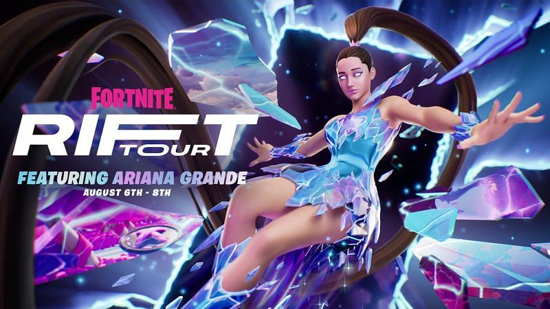 The Ariana Grande Rift Tour official is going to be spectacular (Image via Fortnite/Epic Games)