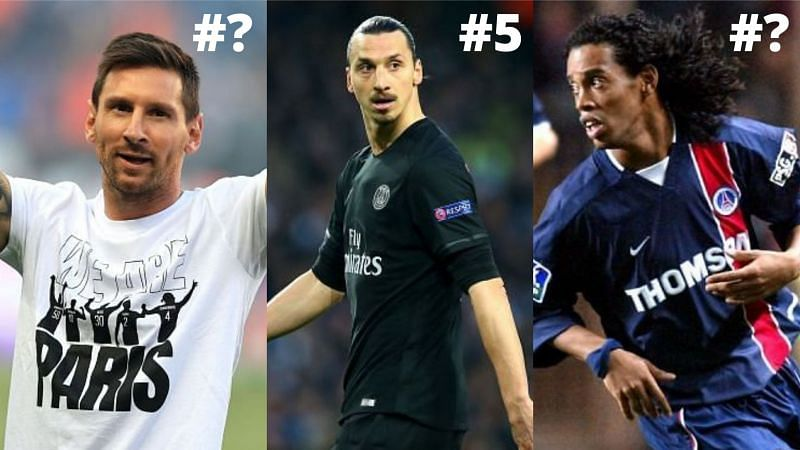 These five legends of the game are the best to have ever featured for PSG in the club's history