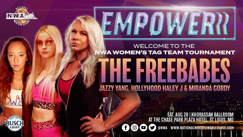 The Freebabes make their NWA debut this Saturday at Empowerrr
