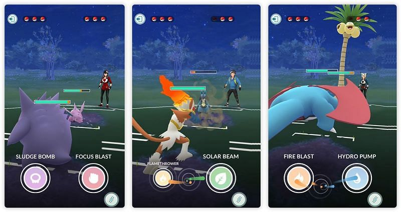 Switching can save shields and also pull a leading Pokemon out of a bad situation (Image via Niantic)