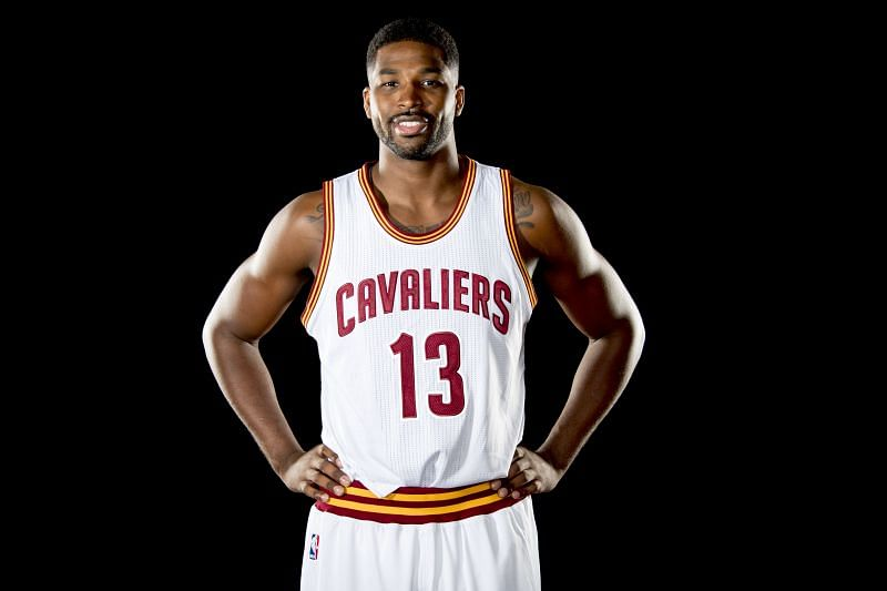 Tristan Thompson (#13) of the Cleveland Cavaliers