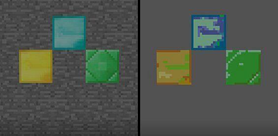 8-bit texture comparison (Image via Mojang)