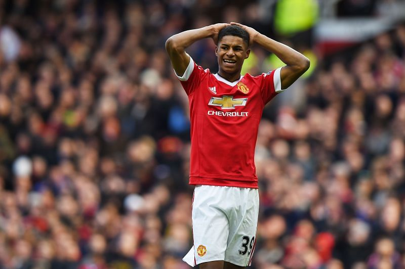 Marcus Rashford has been a steady performer for Manchester United over the years.
