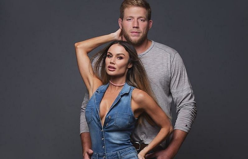 AEW Star Jake Hager is married to former WWE wrestler Catalina White