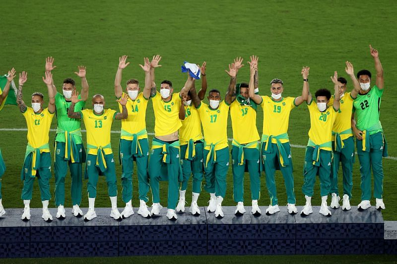 Brazil clinched their second Olympic goal medal in football