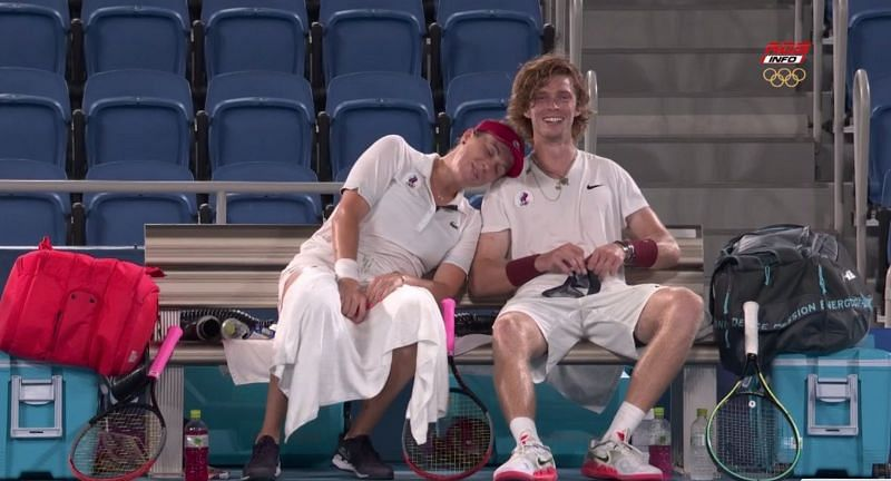 Anastasia Pavlyuchenkova and Andrey Rublev have won a lot of hearts at the Olympics
