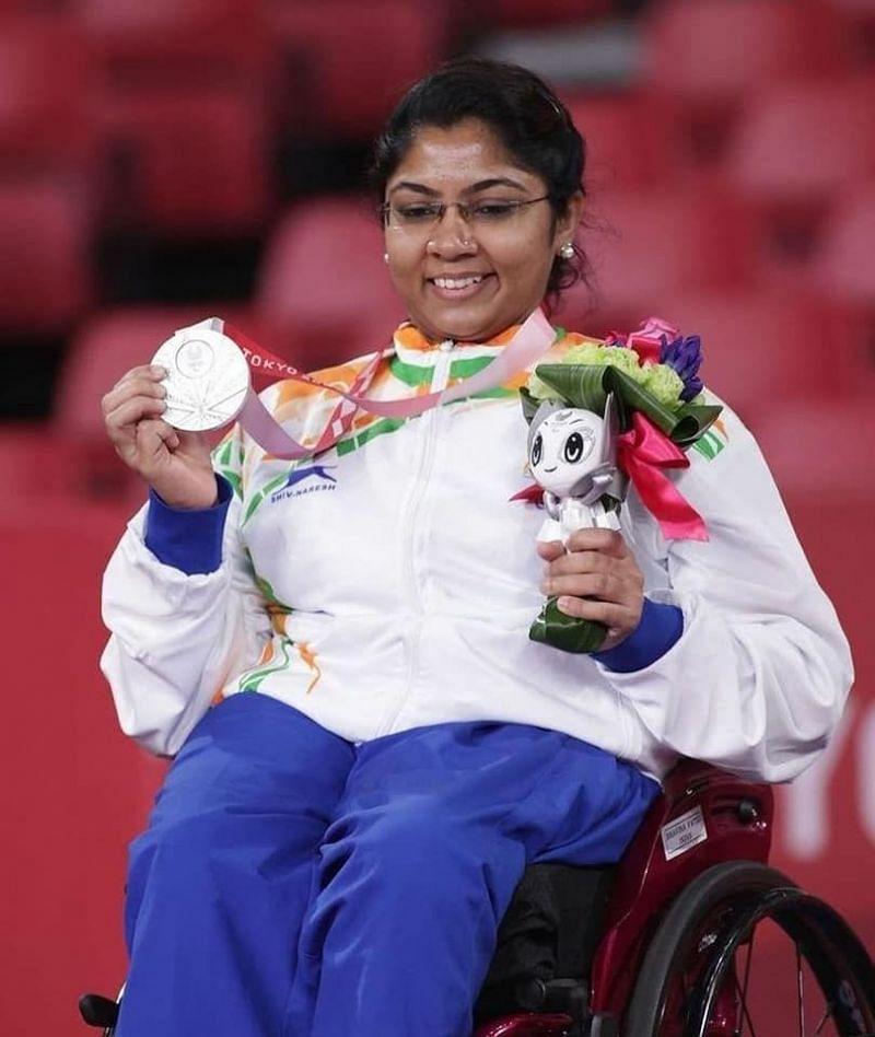 Tokyo Paralympics में भविना पटेल ने रजत पदक पर कब्ज़ा किया