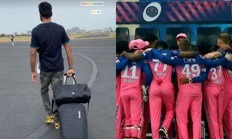 Rajasthan Royals have landed in the UAE for the remainder of <a href='https://www.sportskeeda.com/go/ipl' target='_blank' rel='noopener noreferrer'>IPL 2021</a>