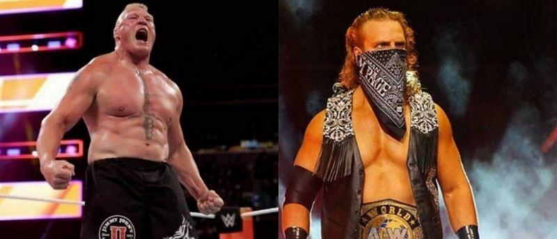 Brock Lesnar and Hangman Page!