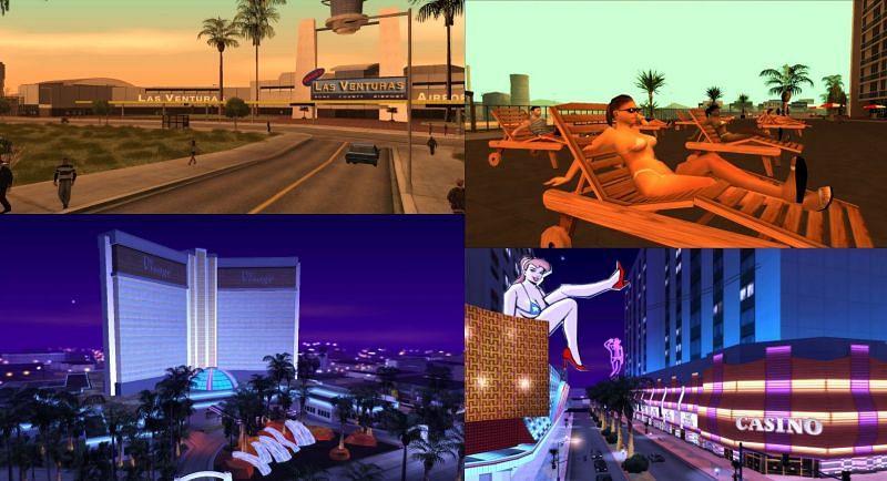 Las Venturas has that Las Vegas feel to it (Image via GTA Wiki)