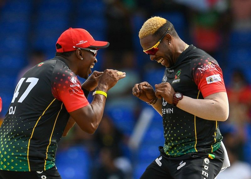 St Kitts and Nevis Patriots are yet to face defeat so far in the tournament (PC: CPL Twitter )