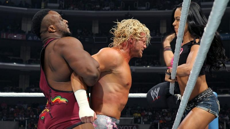 Big E thinks AJ Lee has a place in wrestling!