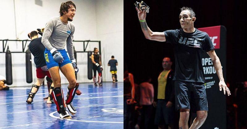 Ricky Turcios (left) & Tony Ferguson (right) [Image Credits- @rickyturcios on Instagram]