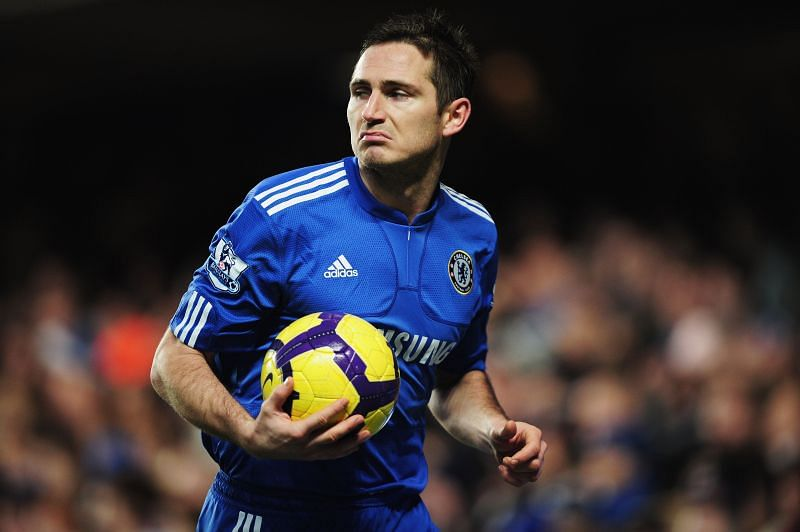 Frank Lampard was a prolific goalscoring midfielder.