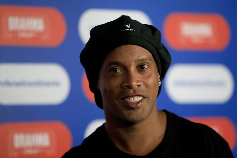 Ronaldinho at the Copa America 2019 Official Draw