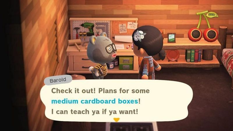 Interacting with villagers while they're crafting will enable players to get the recipes from them (Image via Nintendo)